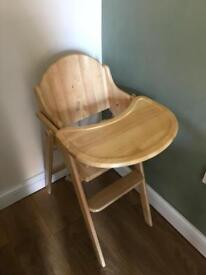 John Lewis high chair