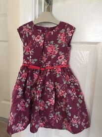 Next party Dresses aged 2-3