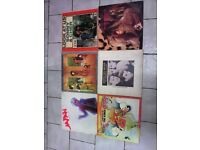 """SELECTION OF ALBUMS AND 12"""" SINGLES PLUS LP STROAGE BOX 41 ITEMS IN TOTAL!"""