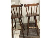 Kitchen bar chairs/stools