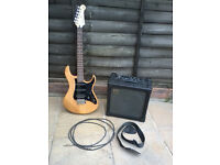 Yamaha Pacifica 112 Electric Guitar & Roland Cube 30 Amp
