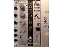 Tiptop Z-Ears + Z-Rails Eurorack synthesizer parts for sale.