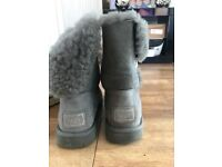 Genuine bailey button UGG boots size 6.5
