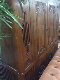 Vintage, retro, rustic cabinet