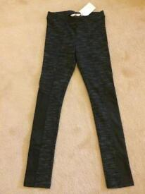 H&M BNWT tight leggings Girls Age 9-10 years
