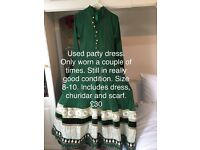 Embroidery Wedding Party Dress/Outfit for sale