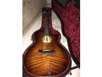 Taylor K24ce guitar, mint condition