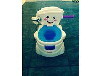 Singing toilet/potty