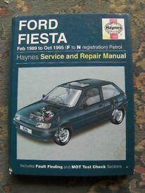 Ford Fiesta Car Manual