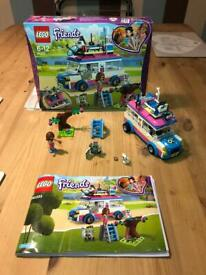 Lego Friends Olivias Mission Vehicle