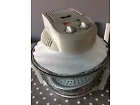 New Wolf Halogen Oven with extender ring