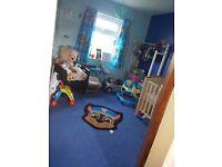2 bed ground floor flat meir