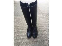 Ariat Bromont h20 Riding boots , size 5.5 ladies , wide calf , worn handful of times