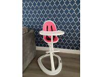 Ickle bubba pink highchair