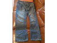 Mens Crosshatch 36 inch jeans £25.