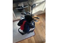 Full set of Mens Golf clubs with bag