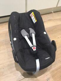 Maxi Cosi Pebble Car Seat - VGC - No Accidents