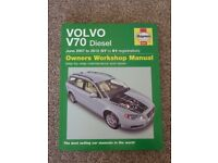 Haynes Manual - Owners Workshop Manual for Volvo V70