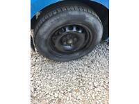 Ford Ka. Steel wheel spare replacement. Inc tyre.