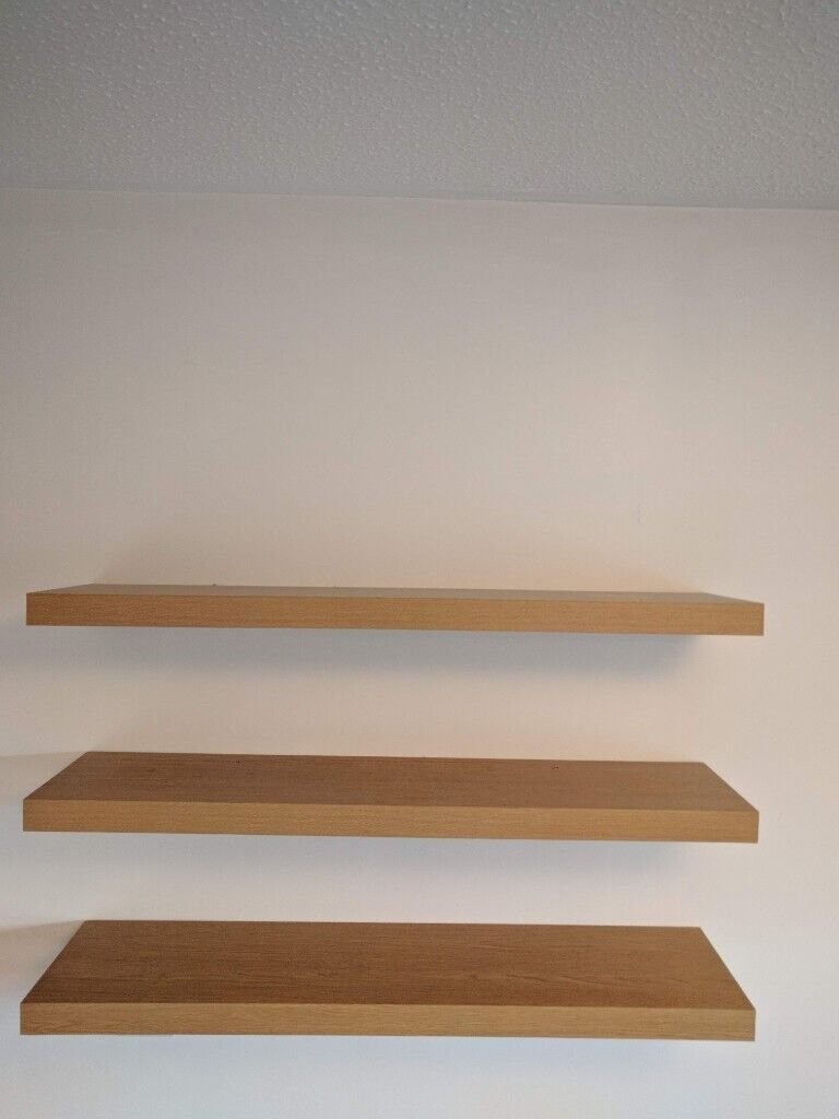 Phenomenal Floating Shelves X3 In Light Oak By Next In Pershore Worcestershire Gumtree Download Free Architecture Designs Embacsunscenecom