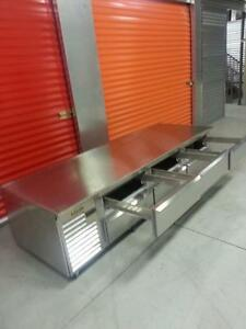 8 Feet Traulsen Chef  Base  ( Brand New)