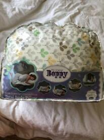 Boppy full body pillow for pregnancy and breastfeeding
