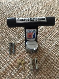 Defender Garage Door Lock
