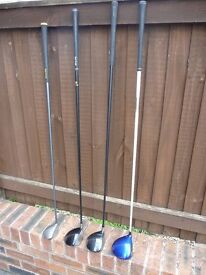 Mizuno, Taylor made, Big Bertha. Drivers & 3 Wood for sale