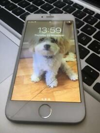 I phone 6 16 gb silver