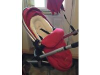 Silver cross surf excellent condition with car seat/ carrier