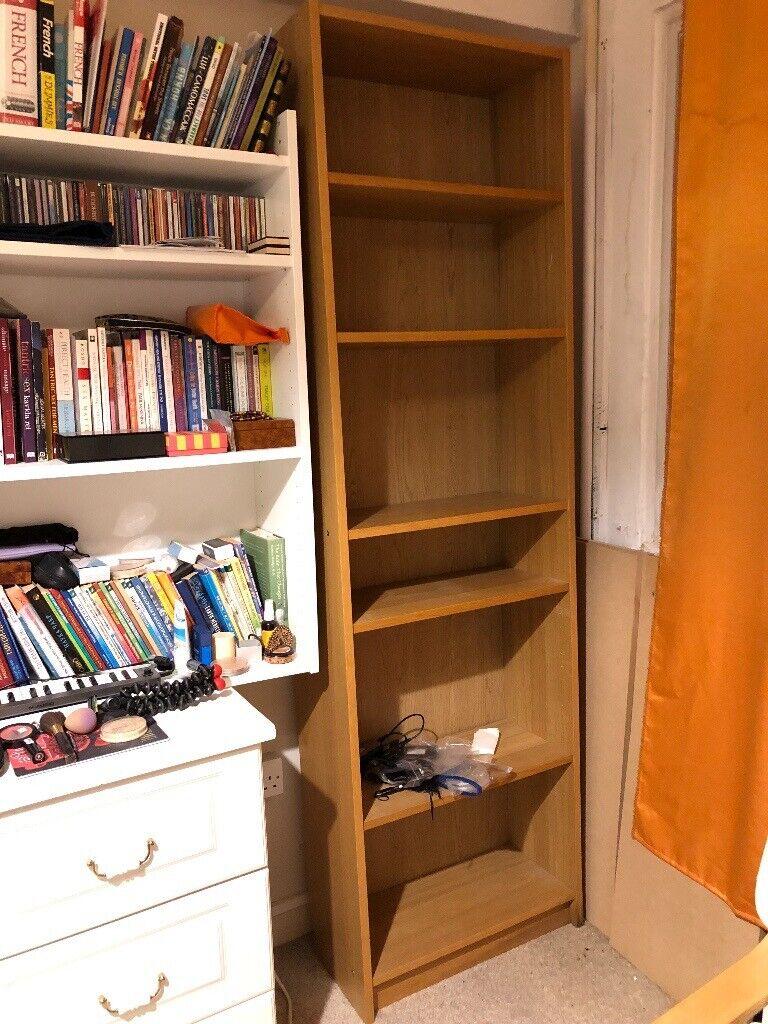 Ikea Billy Bookcase Oak Veneer Beige 60x28x202 Cm Good Condition In St Johns Wood London Gumtree