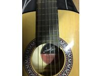 Jose Ferrer student classical guitar and soft case
