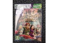Xbox 360 Kinect Adventures game unopened