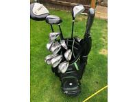 Md surefire right handed golf clubs full set