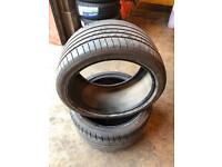 Dunlop SP Sportmaxx 325 30 20 x2 tyres 6+mm