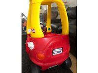 Little Tikes Cozy Coupe - indoor/outdoor kids car
