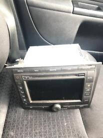 Ford mondeo 2000-2007 radio cd sat nav screen