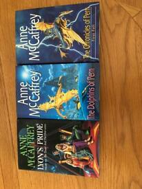 3 Anne McCaffrey novels