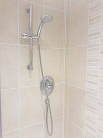 Ideal standard thermostatic built-in shower mixer + shower rail + shower head !!!!