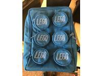 Blue LEGO rucksack