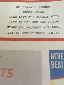 Two Tickets for Emeli Sande -Aberdeen 14th Oct