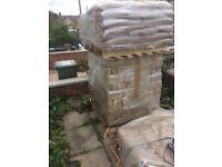 Stratford Yellow imperial Stock Bricks, not reclaimed, 1 x palette 540 bricks