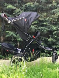 Phil & Teds Sport Buggy Double Kit Black