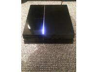 Ps4 spares or repairs (works offline)