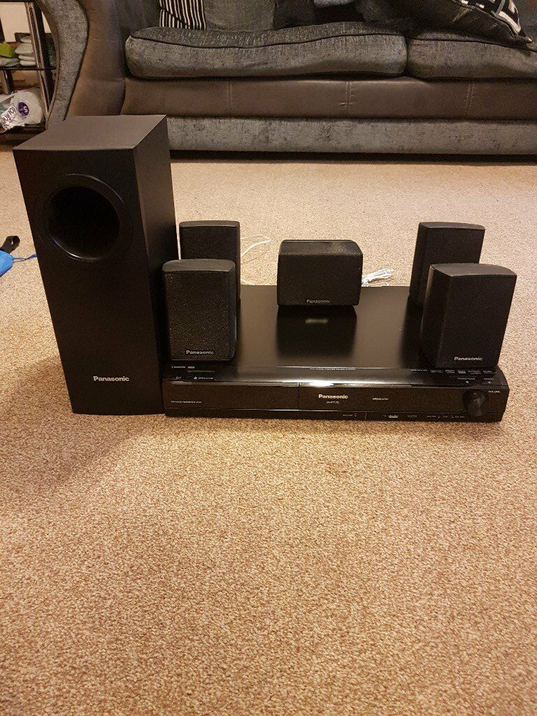 Panasonic 5.1 dolby Surround sound. SA-PT170 Home cinema System