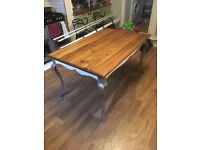 Vintage glam dining table for 6