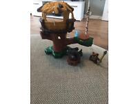 Playskool Ewok toy