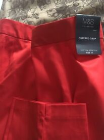 2 pairs size 14 ladies trousers