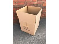 5 XL Removal Packing Carboard Box Carton Used Once