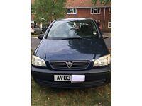 Vauxhall zafria 03 plate